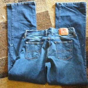 Lucky brand high waisted jeans